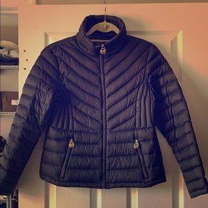 Micheal Kors lightweight puffer coat